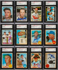Baseball Cards:Lots, Signed 1967 and 1968 Topps Baseball Card Collection (350+)....