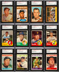 Autographs:Sports Cards, Signed 1962, 1963 and 1964 Topps Baseball Card Collection (350+)....