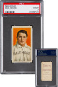 Baseball Cards:Singles (Pre-1930), 1909-11 T206 Drum Doc Adkins PSA Good 2 - Only Two ConfirmedKnown!...