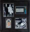 Autographs:Checks, 1953 Marilyn Monroe Signed Check with DiMaggio AutographDisplay....