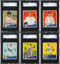 Baseball Cards:Sets, 1934 Goudey Baseball Low Number Partial Run (56). ...
