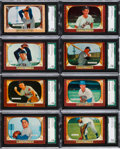 Baseball Cards:Lots, 1955 Bowman Baseball SGC 96 Mint 9 Collection (15). ...