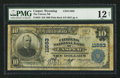 National Bank Notes:Wyoming, Casper, WY - $10 1902 Plain Back Fr. 633 The Citizens NB Ch. # 11683. ...