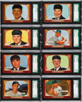 Baseball Cards:Lots, 1955 Bowman Baseball SGC 92 NM/MT+ 8.5 High Number Collection (16)....