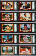 Baseball Cards:Lots, 1955 Bowman Baseball SGC 88 NM/MT 8 Collection (48). ...