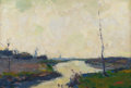 Fine Art - Painting, American:Modern  (1900 1949)  , ARMIN HANSEN (American, 1886-1957). Castroville - Slough.Oil on board. 13-1/2 x 19-1/2 inches (34.3 x 49.5 cm). Signed ...