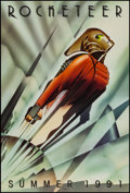 "Movie Posters:Action, The Rocketeer (Walt Disney Pictures, 1991). One Sheet (27"" X 41"")SS Advance. Action.. ..."