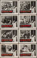 """Movie Posters:Foreign, La Dolce Vita (Astor, 1961). Lobby Card Set of 8 (11"""" X 14""""). Foreign.. ... (Total: 8 Items)"""