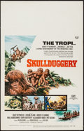 "Movie Posters:Adventure, Skullduggery & Other Lot (Universal, 1970). Window Card (14"" X22"") & One Sheet . Adventure.. ... (Total: 2 Items)"