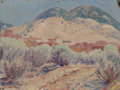 Fine Art - Painting, American:Modern  (1900 1949)  , SHELDON PARSONS (American, 1866-1943). Spring Time, SantaFe, 1921. Oil on board. 9 x 12 inches (22.9 x 30.5 cm).Signed...