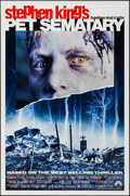"Movie Posters:Horror, Pet Sematary & Others Lot (Paramount, 1989). One Sheets (3)(27"" X 41"", 27"" X 40"") SS Regular & Advance, DS Advance.Horror.... (Total: 3 Items)"