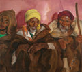 Paintings, MARTHA WALTER (American, 1875-1976). Youth and Wisdom, The Three Shepherds. Oil on canvas. 35-3/4 x 40 inches (90.8 x 10...