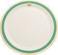 Political:Presidential Relics, Jimmy Carter: White House Plate....