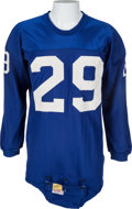 Football Collectibles:Uniforms, 1960-64 Alex Webster Game Worn New York Giants Jersey - With Player Letter!...