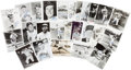 Baseball Collectibles:Photos, 1970's Collection of Baseball Hall of Famer Signed Photographs Lotof 25. ...