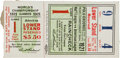 Baseball Collectibles:Tickets, 1921 World Series Game One Ticket Stub....