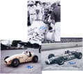Miscellaneous Collectibles:General, 1980's Collection of Indy 500 Racers Signed Photos. ...