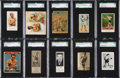 Boxing Cards:General, 1880's - 1930's Boxing Type Card Collection (10) With Rare Series....