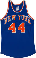 Basketball Collectibles:Uniforms, 1960's New York Knicks Game Worn Jersey & Shorts. ...