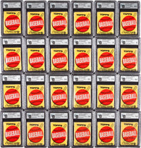 1963 Topps Five-Cent Wax Box With 24 Packs
