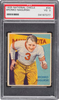 Football Cards:Singles (Pre-1950), 1935 National Chicle Bronko Nagurski #34 PSA VG 3....