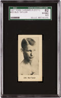 Boxing Cards:General, 1927 E211 York Caramel Prizefighters Bud Taylor #20 SGC 82 EX/NM+6.5 - The Finest Graded Example! ...