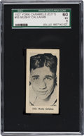 Boxing Cards:General, 1927 E211 York Caramel Prizefighters Mushy Callahan #55 SGC 60 EX 5- The Finest Example Known! ...