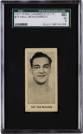 Boxing Cards:General, 1927 E211 York Caramel Prizefighters Paul Berlenbach #16 SGC 60 EX5 - Finest of Only Two Graded! ...