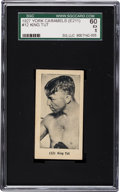 Boxing Cards:General, 1927 E211 York Caramel Prizefighters King Tut #12 SGC 60 EX 5 -Finest SGC Graded Example! ...