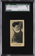 Boxing Cards:General, 1927 E211 York Caramel Prizefighters Johnny Dundee #7 SGC 60 EX 5 -Finest Graded Example! ...