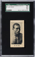 Boxing Cards:General, 1927 E211 York Caramel Prizefighters Joe Gans #8 SGC 70 EX+ 5.5 -The Only Example Graded by Both PSA and SGC! ...