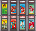 Football Cards:Lots, 1965 Topps Football PSA NM-MT 8 Collection (22) With Checklist 1-88. ...