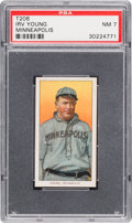 Baseball Cards:Singles (Pre-1930), 1909-11 T206 Piedmont Irv Young PSA NM 7. ...