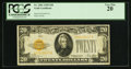 Small Size:Gold Certificates, Fr. 2402 $20 1928 Gold Certificate. PCGS Very Fine 20.. ...