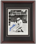 Football Collectibles:Publications, 1994 New York Giants Leatherbound Signed Book & Y.A. Title Signed Photograph. ...