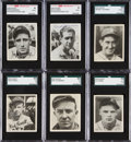 Baseball Cards:Sets, 1936 Goudey Complete Set (25) With Autographed Greenberg and Harris. ...