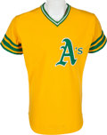 Baseball Collectibles:Uniforms, 1975 Reggie Jackson Game Worn Oakland Athletics Jersey. ...
