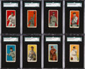 Baseball Cards:Sets, 1910 E93 Standard Caramel Partial Set (11/30) With Wagner and Cobb....