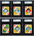 Baseball Cards:Sets, 1951 Topps Red Backs Complete Set (54) With Variations. ...