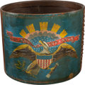 Military & Patriotic:Civil War, Incredible Antietam Battlefield Recovered Infantry Eagle Drum...