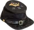 Military & Patriotic:Civil War, Very Fine Commercially Produced 14th New Hampshire Forage Cap ...