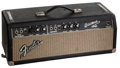 Musical Instruments:Amplifiers, PA, & Effects, 1966 Fender Bassman Black Guitar Amplifier Head....