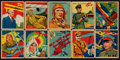 "Non-Sport Cards:Sets, 1933/34 R136 National Chicle ""Sky Birds"" Partial Set (58/108). ..."