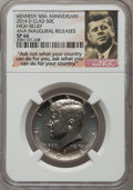Kennedy Half Dollars, 2014-P 50C High Relief, Clad, 50th Anniversary, Chicago August ANAInaugural Release 1964-2014, SP66 NGC. This lot also inc... (Total:2 coins)