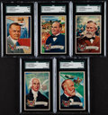 """Non-Sport Cards:Sets, 1952 Bowman/1972 Topps """"U.S. Presidents"""" and """"Indians of the U.S.A. Complete Set Pair (2). ..."""