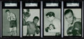 Boxing Cards:General, 1947-66 Exhibits Boxing Card Collection (40). ...
