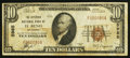 National Bank Notes:Oklahoma, El Reno, OK - $10 1929 Ty. 1 The Citizens NB Ch. # 5985. ...