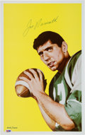 Football Collectibles:Photos, 1990's Joe Namath Signed Oversized Photograph The Image From His Rookie Card Lot of 30. ...