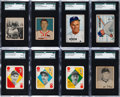 Baseball Cards:Lots, 1948 - 1952 Topps & Bowman Collection (482) With 1951 BowmanMantle Rookie. ...
