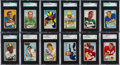 Football Cards:Sets, 1952 Bowman Small Complete Set (144). ...